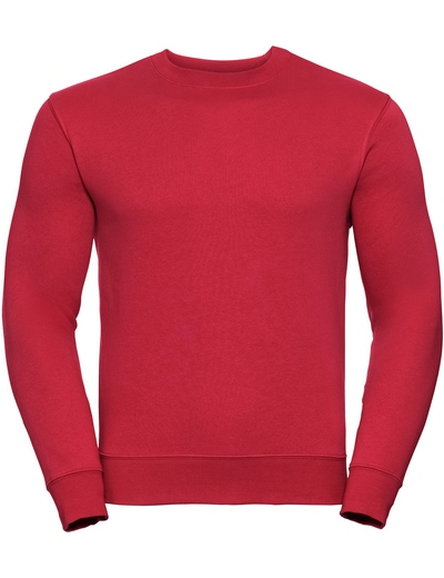 262M•ADULTS AUTHENTIC SWEATSHIRT, 2XL, classic red (05)