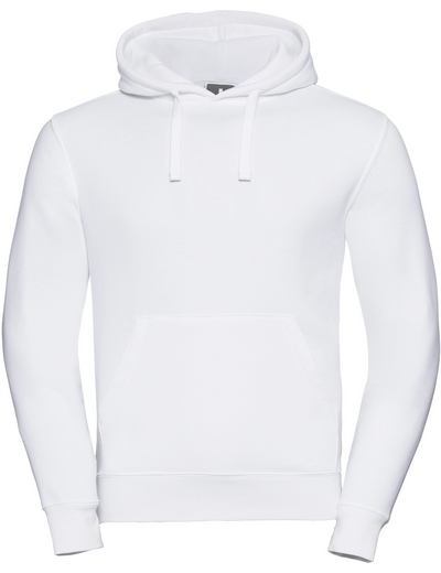 265M•ADULTS' AUTHENTIC HOODED SWEAT, 2XL, white (01)