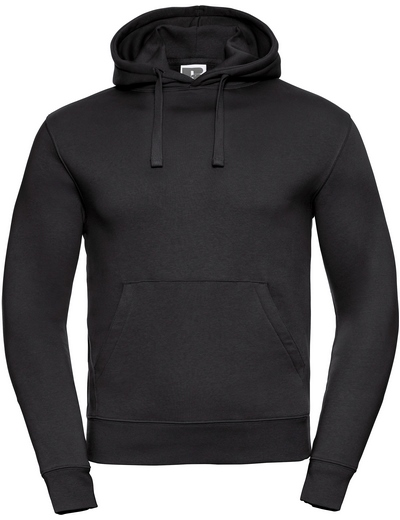 265M•ADULTS' AUTHENTIC HOODED SWEAT, 2XL, black (03)