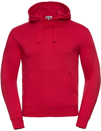 265M•ADULTS' AUTHENTIC HOODED SWEAT, 2XL, classic red (05)