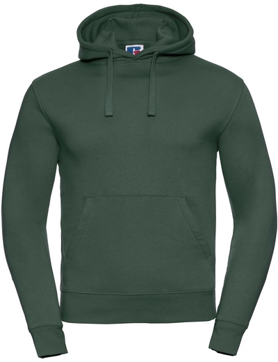 265M•ADULTS' AUTHENTIC HOODED SWEAT, 2XL, bottle green (06)