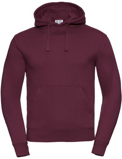 265M•ADULTS' AUTHENTIC HOODED SWEAT, 2XL, burgundy (08)
