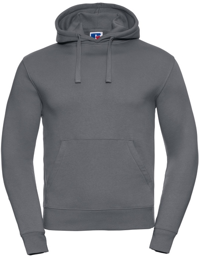 265M•ADULTS' AUTHENTIC HOODED SWEAT, 2XL, convoy grey (16)