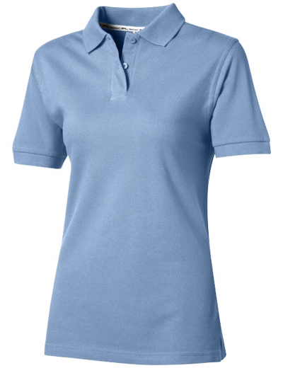 33S03•FOREHAND SHORT SLEEVE LADIES POLO, L, l blue (40)