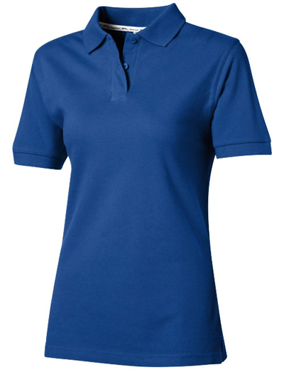 33S03•FOREHAND SHORT SLEEVE LADIES POLO, L, royal (47)