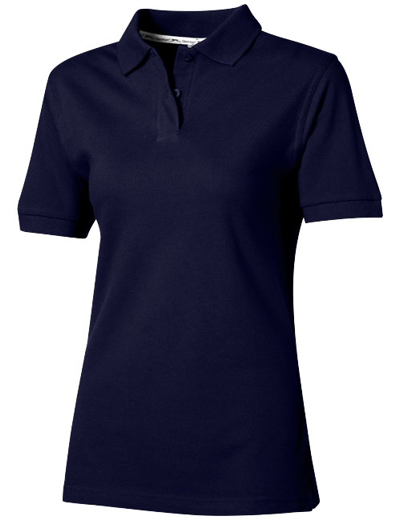 33S03•FOREHAND SHORT SLEEVE LADIES POLO, L, navy (49)