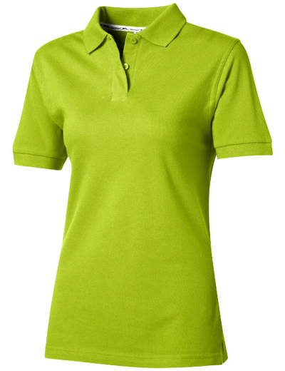 33S03•FOREHAND SHORT SLEEVE LADIES POLO, L, apple (72)