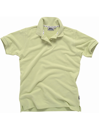 33S03•FOREHAND SHORT SLEEVE LADIES POLO, M, light yellow (08)