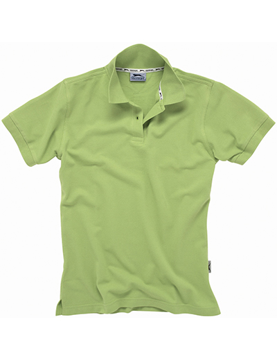33S03•FOREHAND SHORT SLEEVE LADIES POLO, L, green (65)