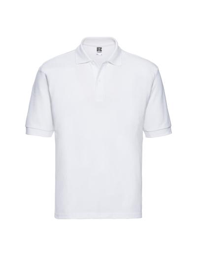539M•MEN'S CLASSIC POLO, 2XL, white (01)