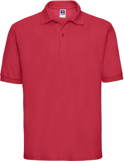 539M•MEN'S CLASSIC POLO, 2XL, classic red (05)