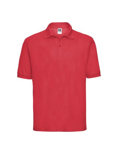 539M•MEN'S CLASSIC POLO, 2XL, bright red (47)