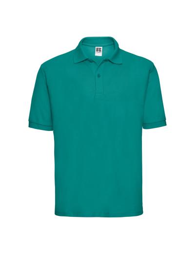 539M•MEN'S CLASSIC POLO, L, winter emerald (54)