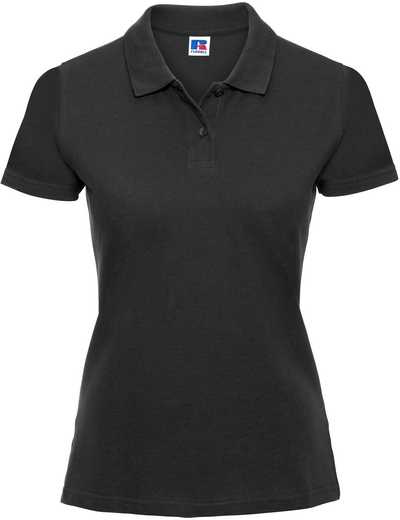 569F•LADIES CLASSIC COTTON POLO, 2XL, black (03)