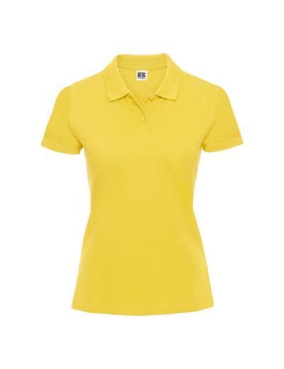 569F•LADIES CLASSIC COTTON POLO, 2XL, yellow (09)