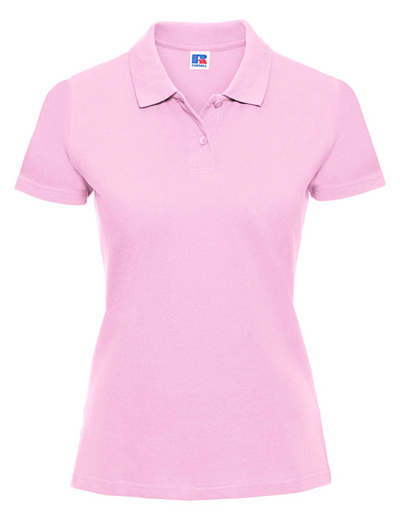 569F•LADIES CLASSIC COTTON POLO, 2XL, candy pink (22)