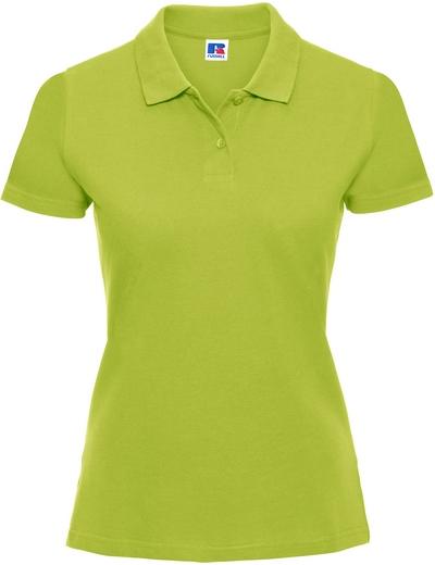 569F•LADIES CLASSIC COTTON POLO, 2XL, lime (30)