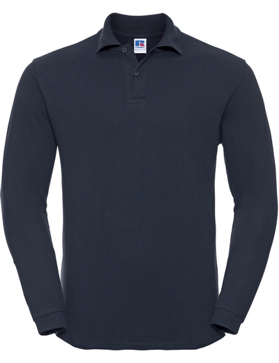 569L•ADULTS' L/S CLASSIC COTTON POLO, 2XL, french navy (04)