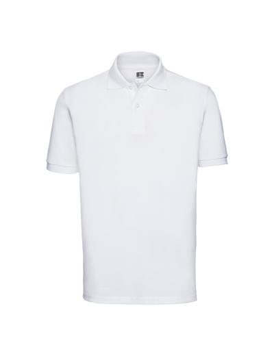 569M•MENS CLASSIC COTTON POLO, 2XL, white (01)