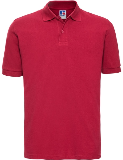 569M•MENS CLASSIC COTTON POLO, 2XL, classic red (05)