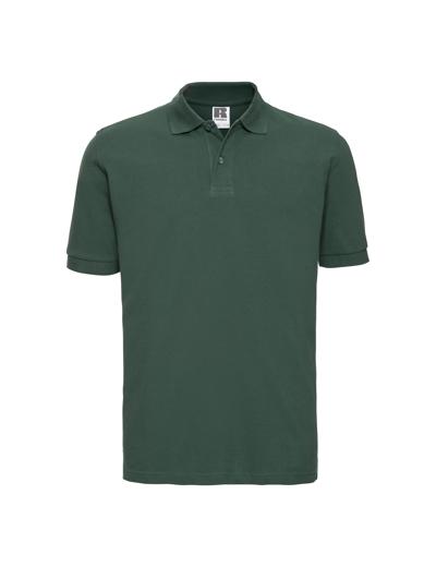569M•MENS CLASSIC COTTON POLO, 2XL, bottle green (06)