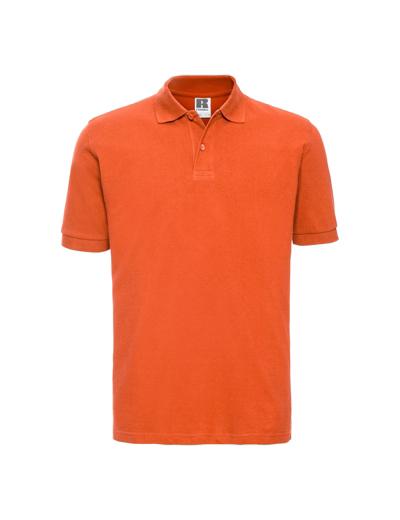 569M•MENS CLASSIC COTTON POLO, 2XL, orange (10)