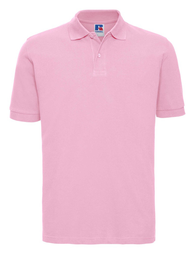 569M•MENS CLASSIC COTTON POLO, 2XL, candy pink (22)