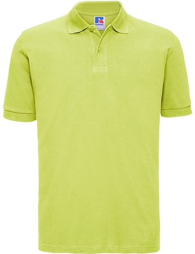 569M•MENS CLASSIC COTTON POLO, 2XL, lime (30)