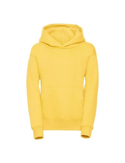 575B•KIDS HOODED SWEATSHIRT, 11//12, yellow (09)