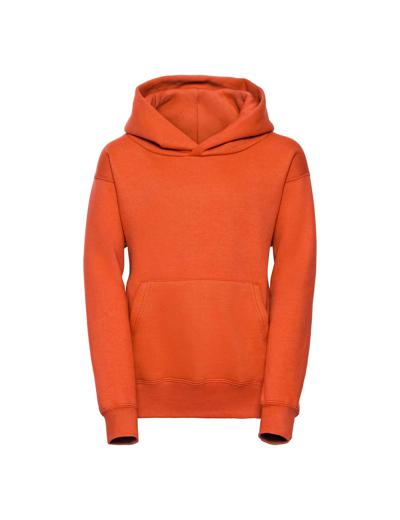 575B•KIDS HOODED SWEATSHIRT, 11//12, orange (10)