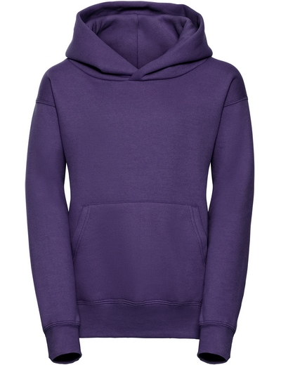 575B•KIDS HOODED SWEATSHIRT, 11//12, purple (13)