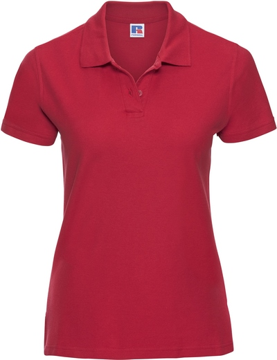 577F•LADIES' ULTIMATE COTTON POLO, 2XL, classic red (05)