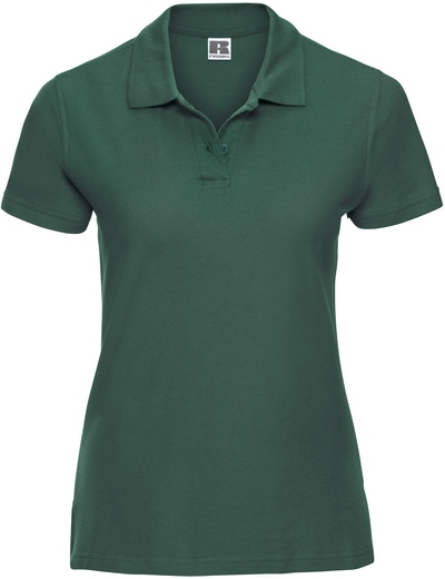577F•LADIES' ULTIMATE COTTON POLO, 2XL, bottle green (06)