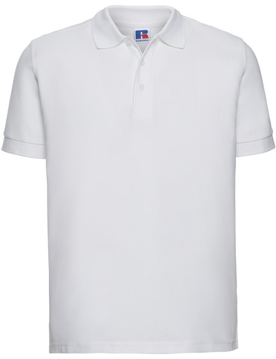 577M•MENS ULTIMATE COTTON POLO, 2XL, white (01)