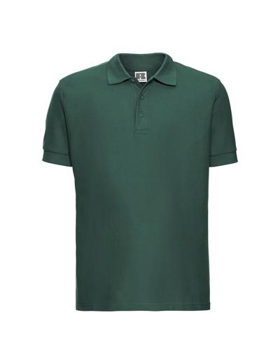 577M•MEN'S ULTIMATE COTTON POLO, 2XL, bottle green (06)
