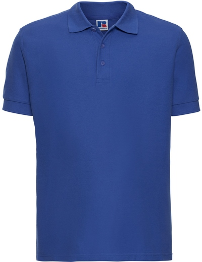 577M•MENS ULTIMATE COTTON POLO, 2XL, bright royal (07)