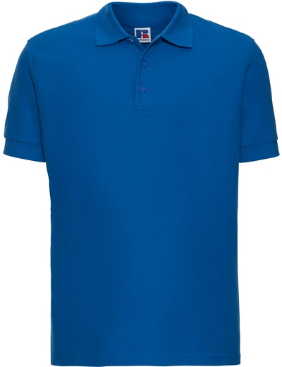 577M•MENS ULTIMATE COTTON POLO, 2XL, azure blue (21)