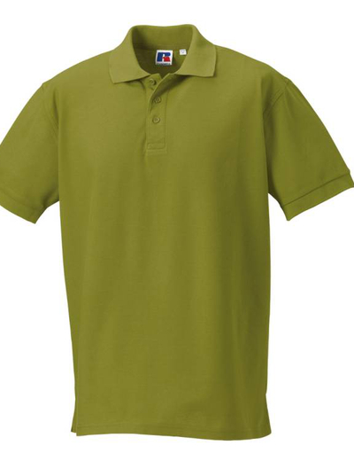 577M•MENS ULTIMATE COTTON POLO, 4XL, OUT-cactus green (14)