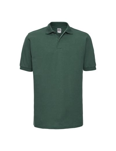 599M•MENS HARDWEARING POLO, 2XL, bottle green (06)