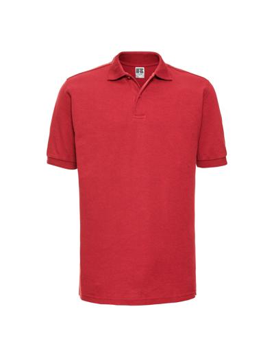 599M•ADULTS HARDWEARING POLYCOTTON POLO, 2XL, bright red (47)