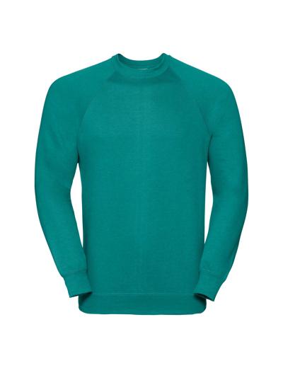 762M•CLASSIC SWEATSHIRT, 2XL, winter emerald (54)