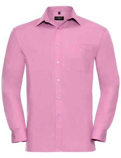 936M•MEN COTTON POPLIN SHIRT LSL, 2XL, bright pink (25)