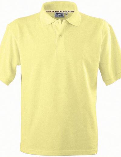 33S01•FOREHAND SHORT SLEEVE MEN'S POLO, S, light yellow (08)