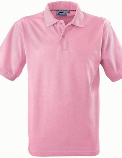 33S01•FOREHAND SHORT SLEEVE MEN'S POLO, S, pink (21)
