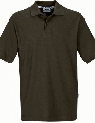 33S01•FOREHAND SHORT SLEEVE MEN'S POLO, S, army green (70)