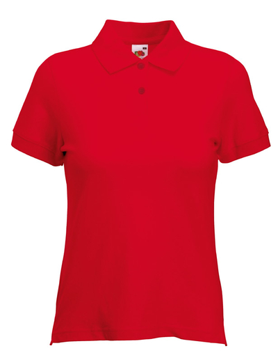 F35•LADY FIT POLO, 2XL, red (05)