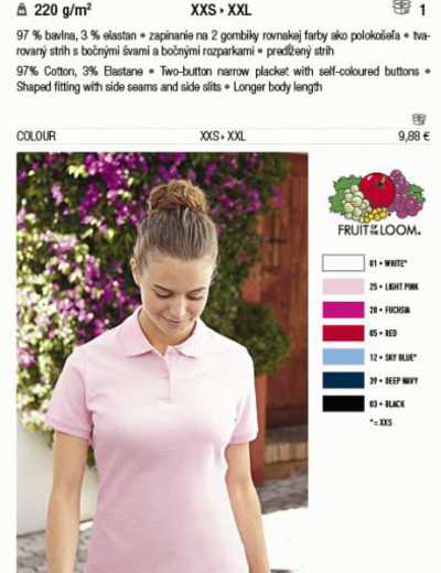 F35•LADY FIT POLO