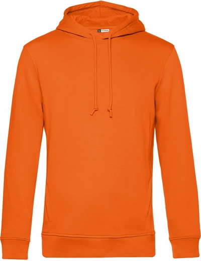 O78•B&C ORGANIC HOODED, 2XL, pure orange (10)