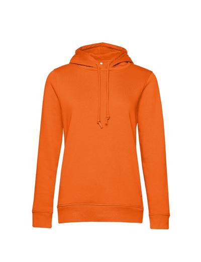 O79•B&C ORGANIC HOODED /WOMEN, 2XL, pure orange (10)