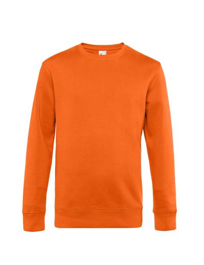 O82•B&C KING CREW NECK, 2XL, pure orange (10)
